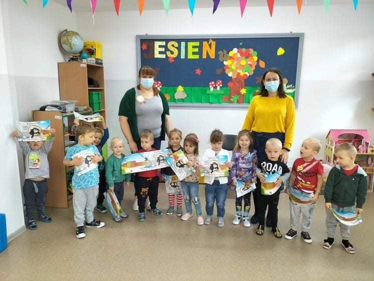 Wizyta  u przedszkolaków w Tuszewie