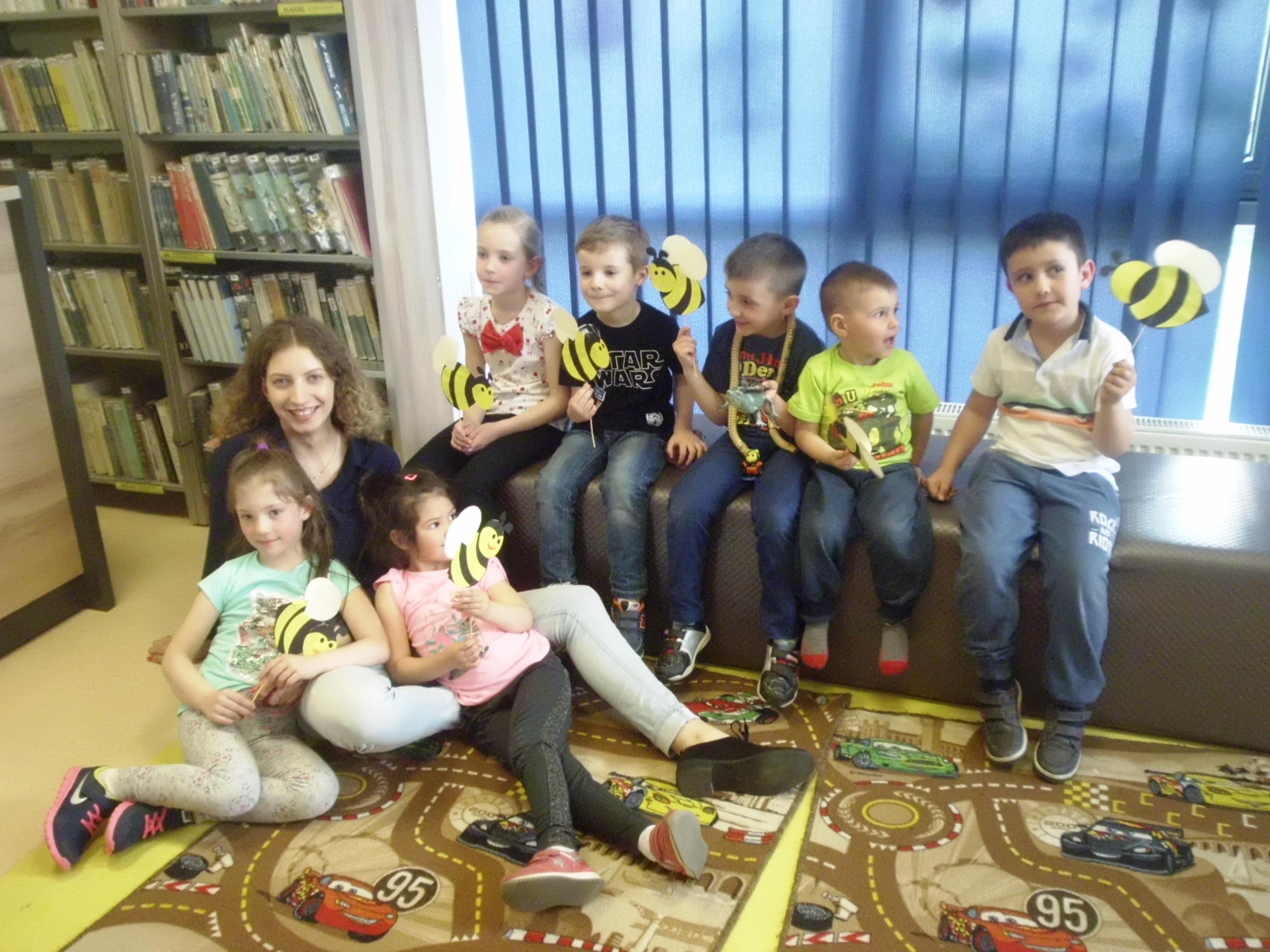 Owadzi świat w Klubie Małego Czytelnika