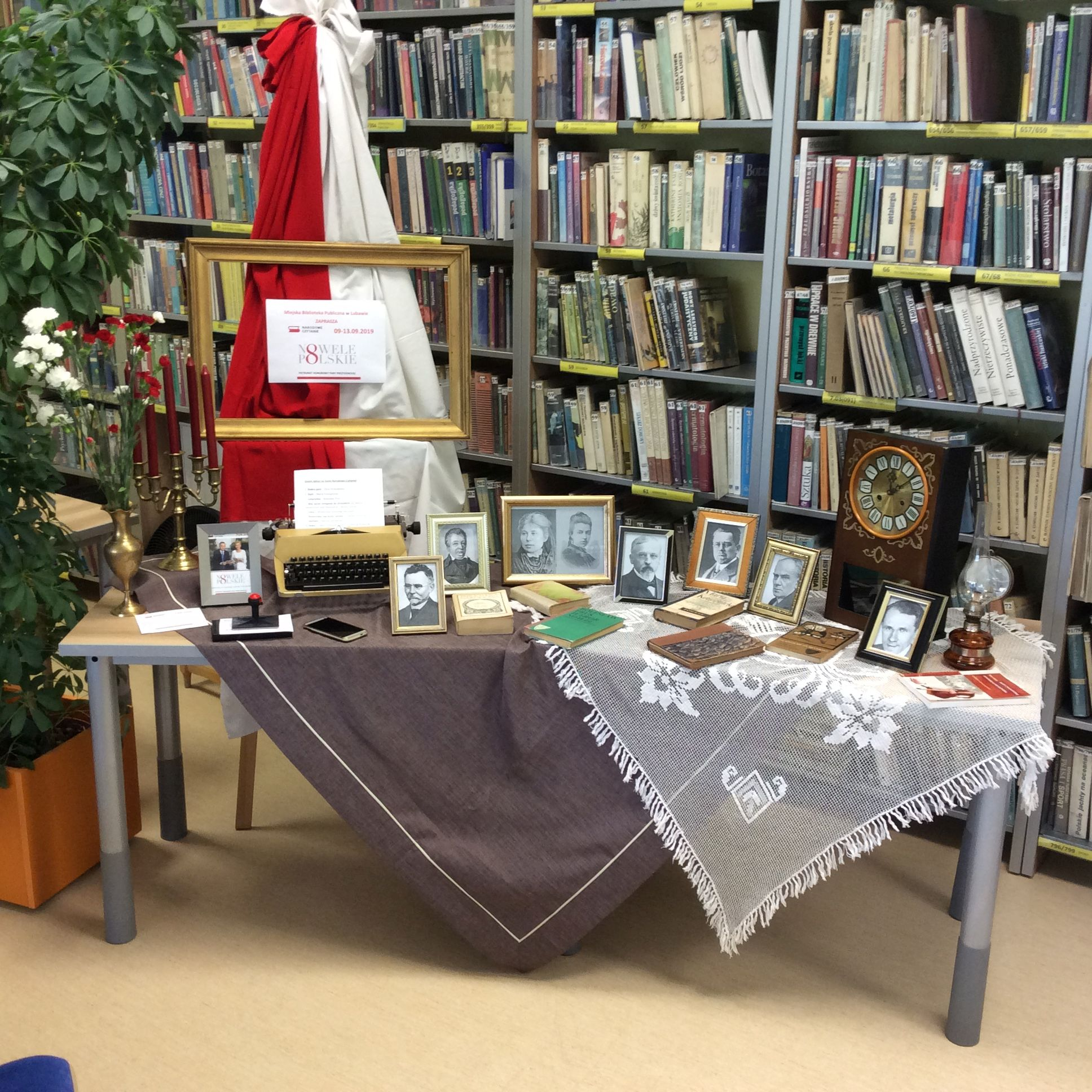 Narodowe Czytanie 2019 w Miejskiej Bibliotece Publicznej w Lubawie cz.2