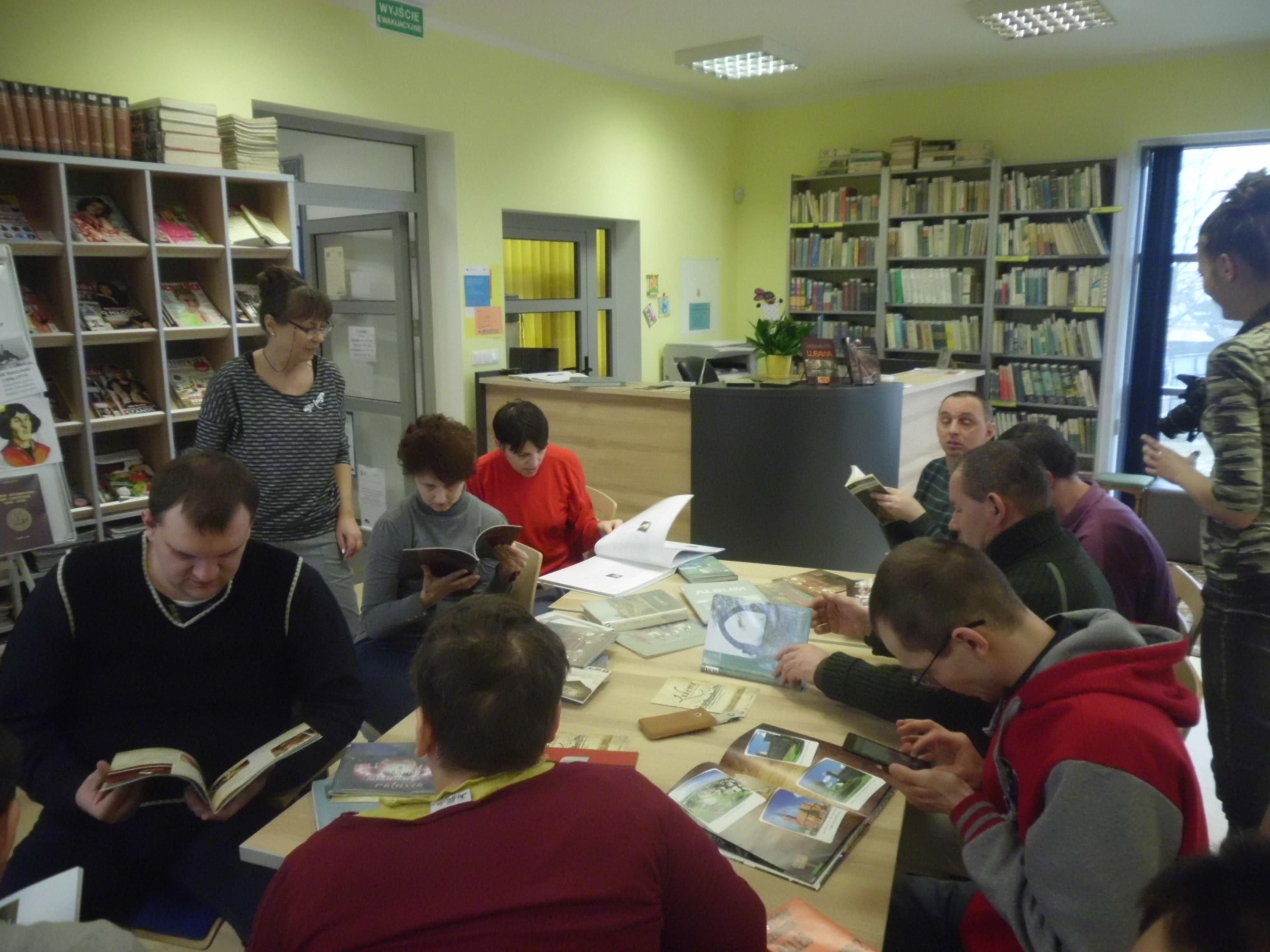 Spotkanie z historią w bibliotece