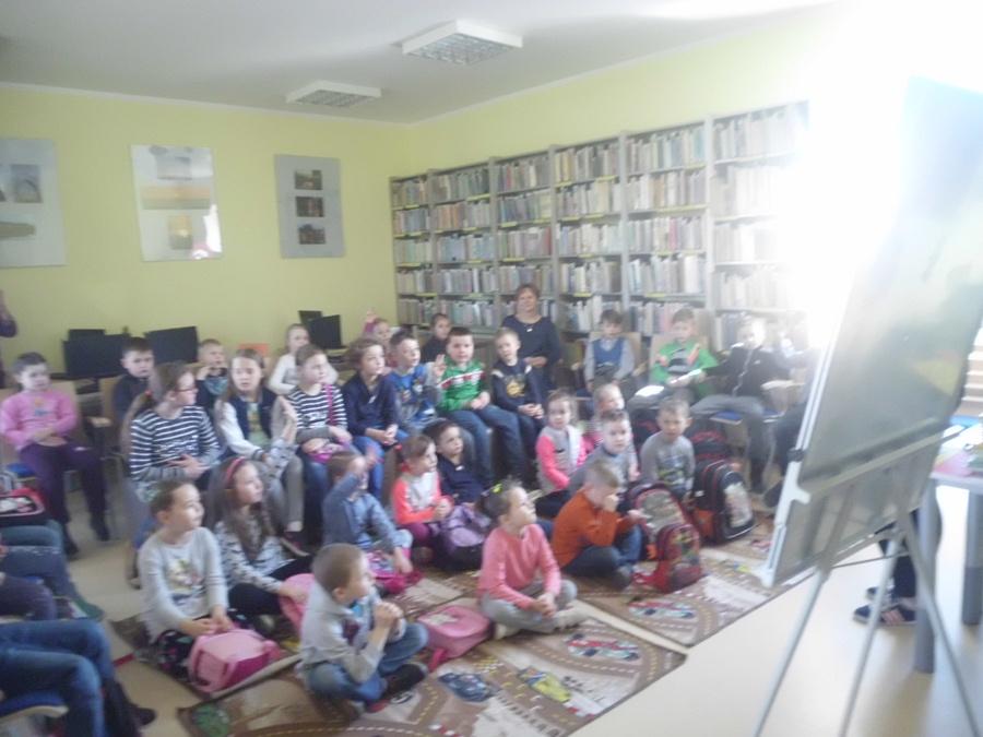 Wizyta dzieci ze Szkoły Podstawowej w Złotowie
